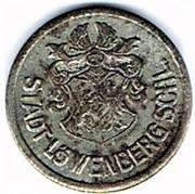 5 pfennig 1918 Löwenberg – avers