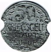 50 pfennig Neuburg – revers