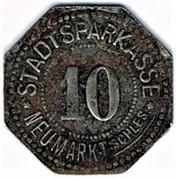 10 pfennig Neumarkt – avers