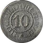 10 Pfennig (Braubach) [Private, Hessen-Nassau, Blei- & Silberhütte Braubach] – revers