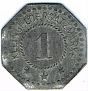 1 pfennig Hersfeld – revers
