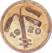 25 Pfennig (Osterburg) – revers
