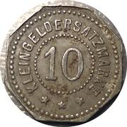 10 Pfennig (Crailsheim) [Stadt, Württemberg] – revers