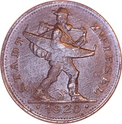 20 Pfennig (Zwiesel) – avers