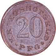 20 Pfennig (Zwiesel) – revers