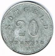 20 pfennig Zwiesel – revers