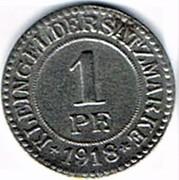 1 pfennig Elbing – revers