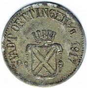 20 pfennig Oettingen – avers