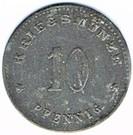 10 pfennig Weissenburg – revers