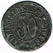 50 pfennig Weida – revers