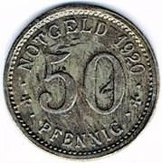 50 pfennig Wattenscheid – revers