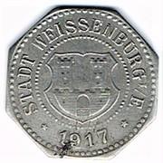 10 pfennig Weissenburg – avers
