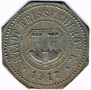 50 pfennig Weissenburg – avers