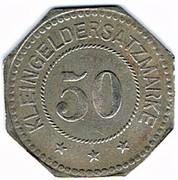 50 pfennig Weissenburg – revers