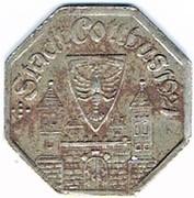 10 pfennig Cottbus – avers