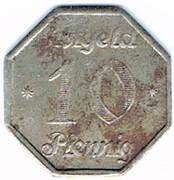 10 pfennig Cottbus – revers