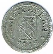 5 pfennig Zabern – avers