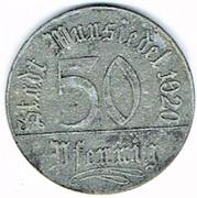50 pfennig Wunsiedel – avers