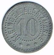 10 pfennig Züllichau – revers