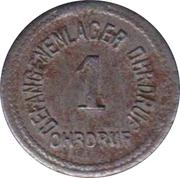 1 Pfennig (Ohrdruf) [POW, Sachsen-Coburg-Gotha] – avers