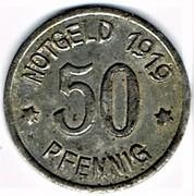 50 pfennig Ratibor – revers