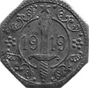 5 Pfennig (Hamm)[Stadt, Westfalen] – revers