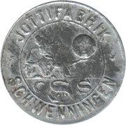 1 Prämienmarke (Jottifabrik) – avers