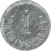 1 Prämienmarke (Jottifabrik) – revers