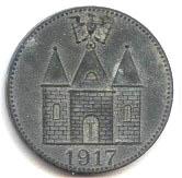 5 pfennig (Wittenberge) – revers