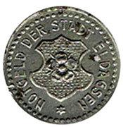 1 pfennig 1920 Eldagsen – avers