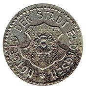 2 pfennig 1920 Eldagsen – avers