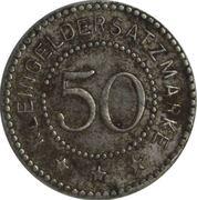 50 Pfennig (Schwerin) [Stadt, Posen] – revers