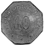 10 Pfennig (Darmstadt)[E. Merck, Private Issue] – revers