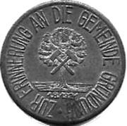50 Pfennig (Hattingen)[Stadt, Westfalen] – avers