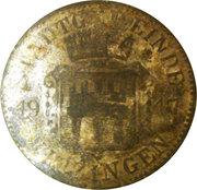 50 pfennig (Kitzingen) Stadt Bayern – avers