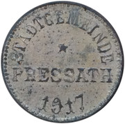 10 Pfennig Pressath – avers