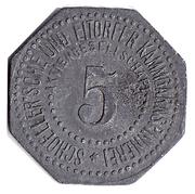 5 Pfennig Eitorf – avers