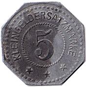 5 Pfennig Eitorf – revers