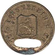 1 Mark (Schwäbisch Gmünd) [Private, Württemberg, Konsumverein] – avers