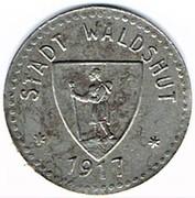 50 pfennig 1917 Waldshut – avers