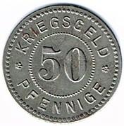 50 pfennig 1917 Waldshut – revers