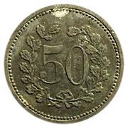 50 Pfennig Lauf – revers