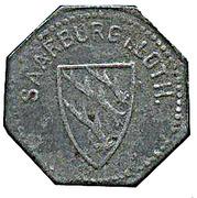10 pfennig (Saarburg - Lothringen) – avers