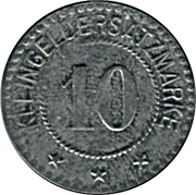 10 Pfennig - Sarre - Union (Saar-Buckenheim) [67] – revers