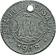 5 Pfennig (Breisach) – avers