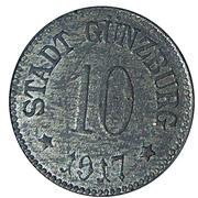 10 Pfennig (Günzburg) [Stadt, Bayern] – avers