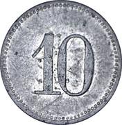 10 Pfennig Marktleuthen – revers