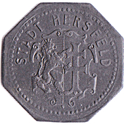 10 Pfennig Hersfeld [Stadt, Hessen-Nassau] – avers