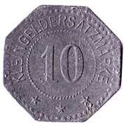 10 Pfennig Hersfeld [Stadt, Hessen-Nassau] – revers