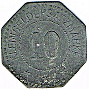 10 Pfennig (Weißenburg) [Stadt, Elsaß] – revers